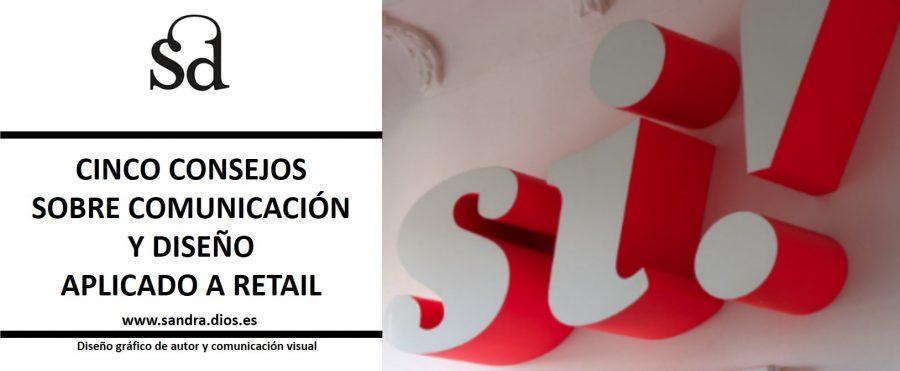 consejos comunicacion y diseño para retail - letras relieve